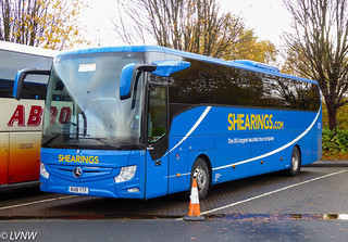 Shearings 151 BU18YTF: Mercedes-Benz Tourismo 2