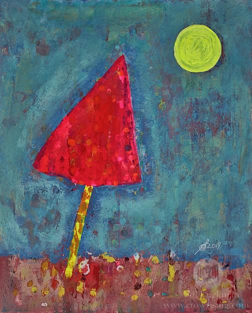 Dayglow (original painting)