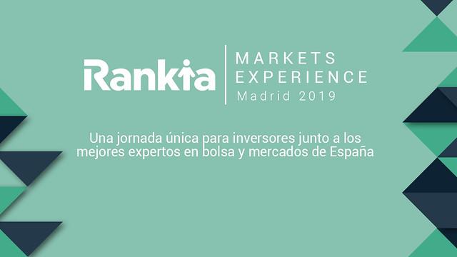 Rankia Markets Experience 2019 Madrid