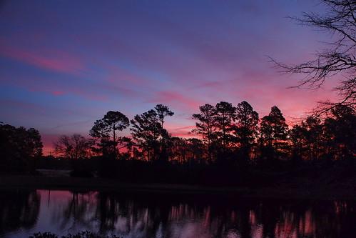 sunrise fairfieldharbour northcarolina olympuspenepm2 olympus lake cloudsstormssunsetssunrises spectacularsunsetsandsunrises cloudscape
