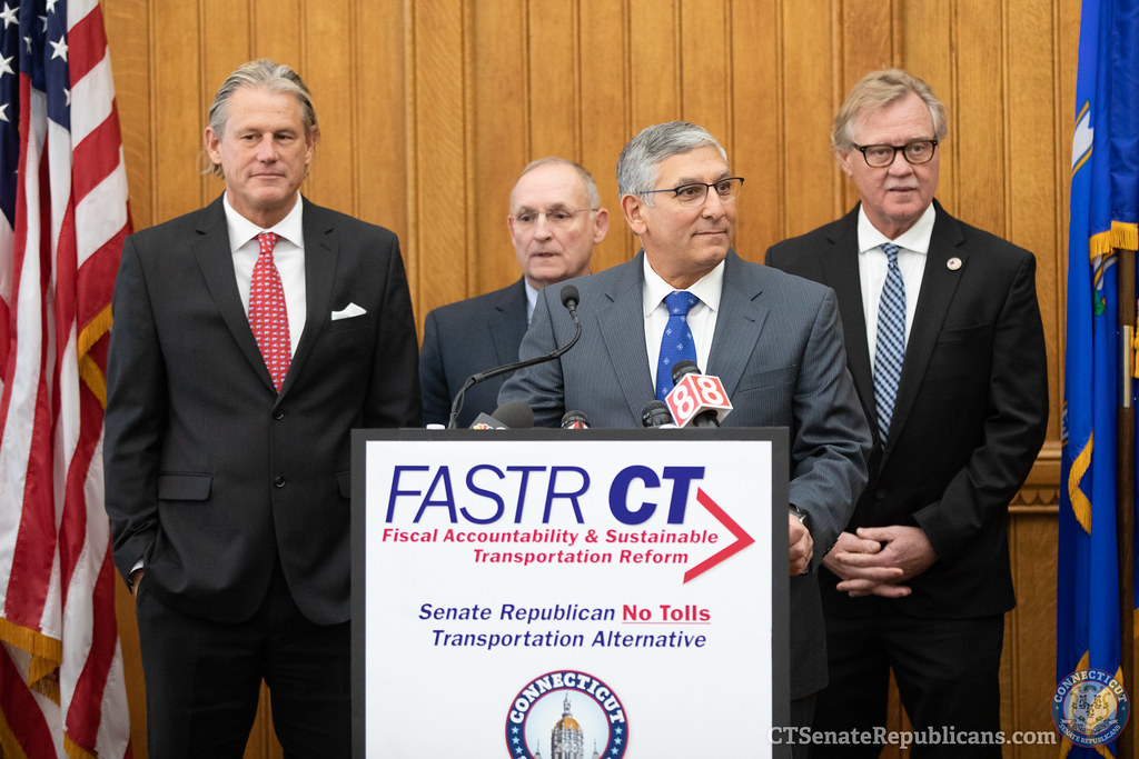 CT Senate Republicans introduce a no toll transportation plan FASTR CT 2019-11-14