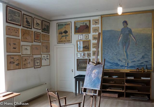 Johannes Larsen Museet i Kerteminde, Danmark