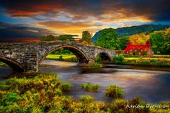 Llanrwst Ivy Cottage  and Bridge