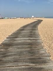 Beach broadwalk, Folkestone