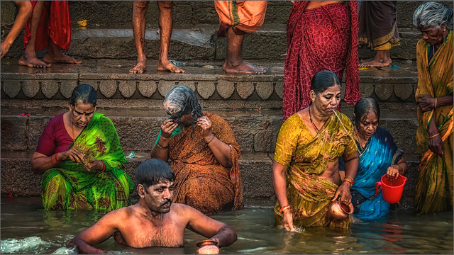 Morning Rituals at the Ganges River #9