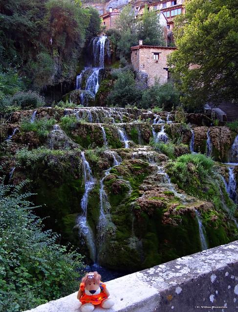 Orbaneja del Castillo, Burgos. España.