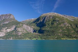 View on Feigumfossen