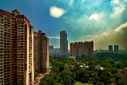 city cityscape cityview residential urban realestate highpointview mumbai maharashtra india