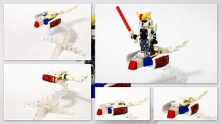 Gundam micro fighter .
