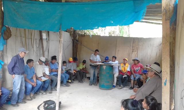 Mantenimiento en Alto Kepashiato Santa Luicita