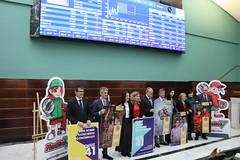 """14/11/2019 - Se presenta el concurso """"QUIZZ 41, ¿Cuánto sabes del Concierto Económico?"""", entre alumnado de Deusto, UPV y Mondragon"""