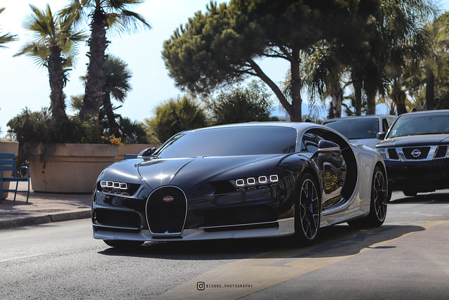 Bugatti Chiron - Cannes the 6th of August, 2019