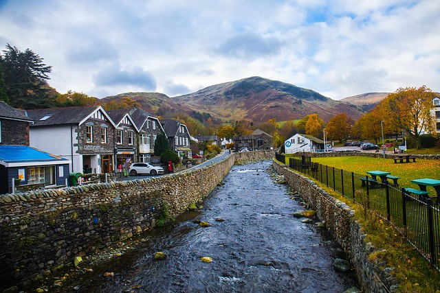 The Small Village of Glenridding and its Beck