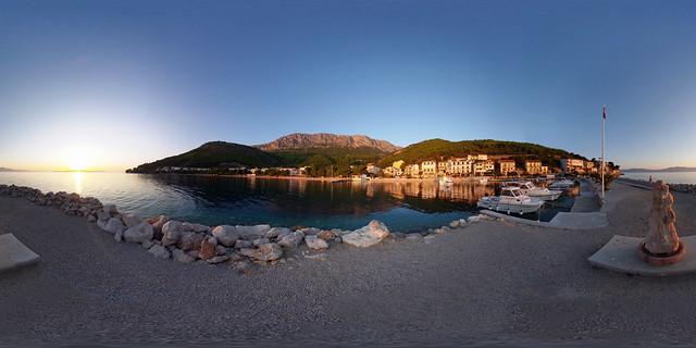 Kroatien - Makarska Riviera, Gradac 360 Grad