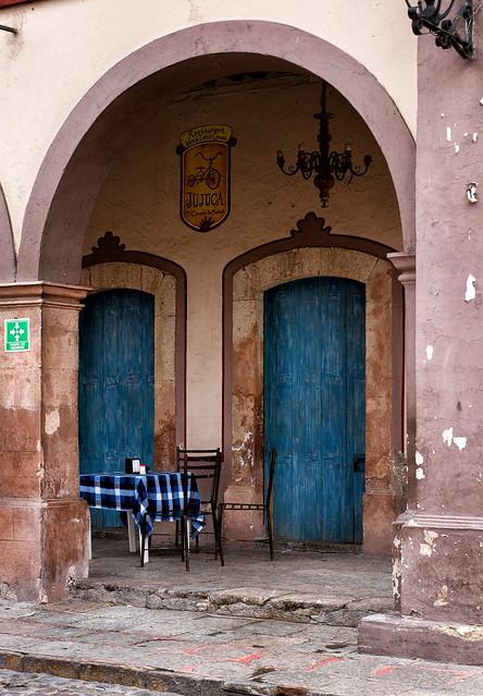Blue Door, Blue Table