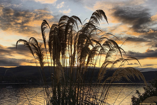 Sunset; The Holy Loch, Argyll, Scotland