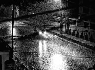 Here comes the rain again!