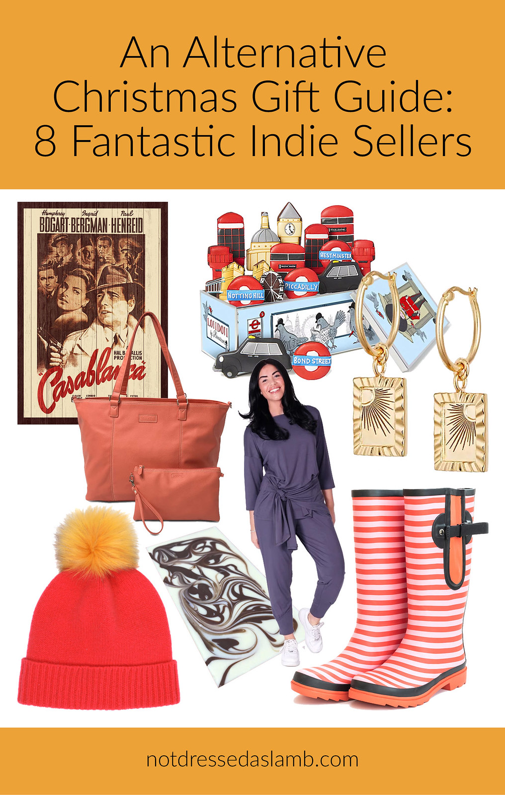 An Alternative Christmas Gift Guide: 8 Fantastic Indie Sellers by Not Dressed As Lamb