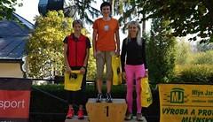 Jitka Kábrtová - tři dny a tři ocenění v běžeckých pohárech