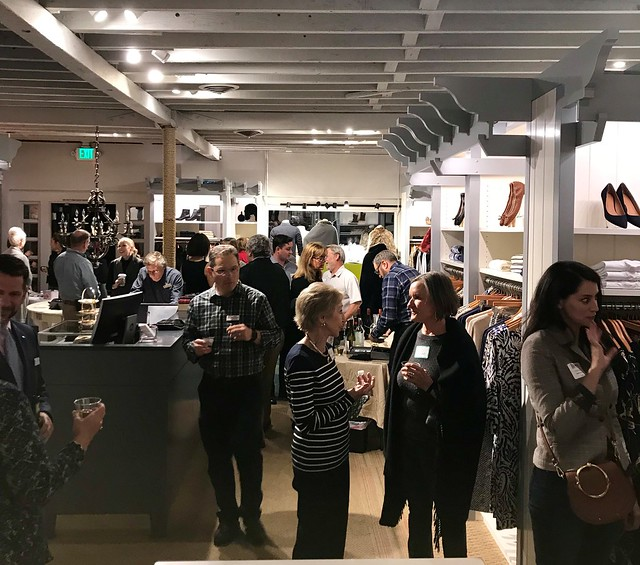 November 13, 2019 - Mixer at J. McLaughlin