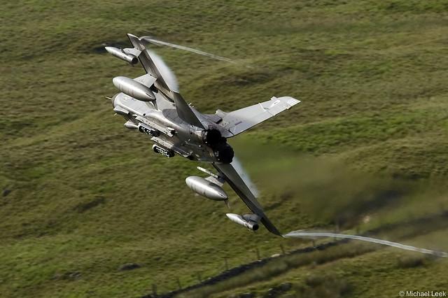 RAF Panavia Tornado GR4 ZD707/077; 13 Squadron, RAF Marham, Norfolk, England