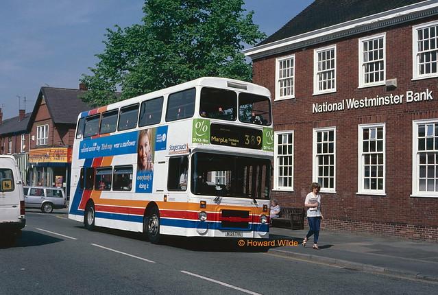 Stagecoach Manchester 3121 (B121 TVU))