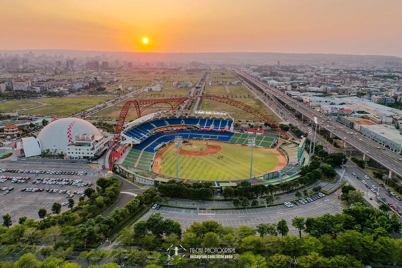 洲際棒球場空拍