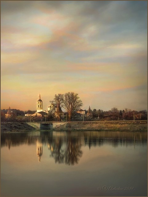 Evening in Borovsk.