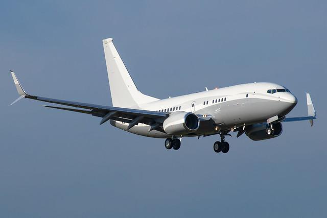 Boeing 737-7JY(BBJ) - N1TS - HAJ - 14.11.2019(1)