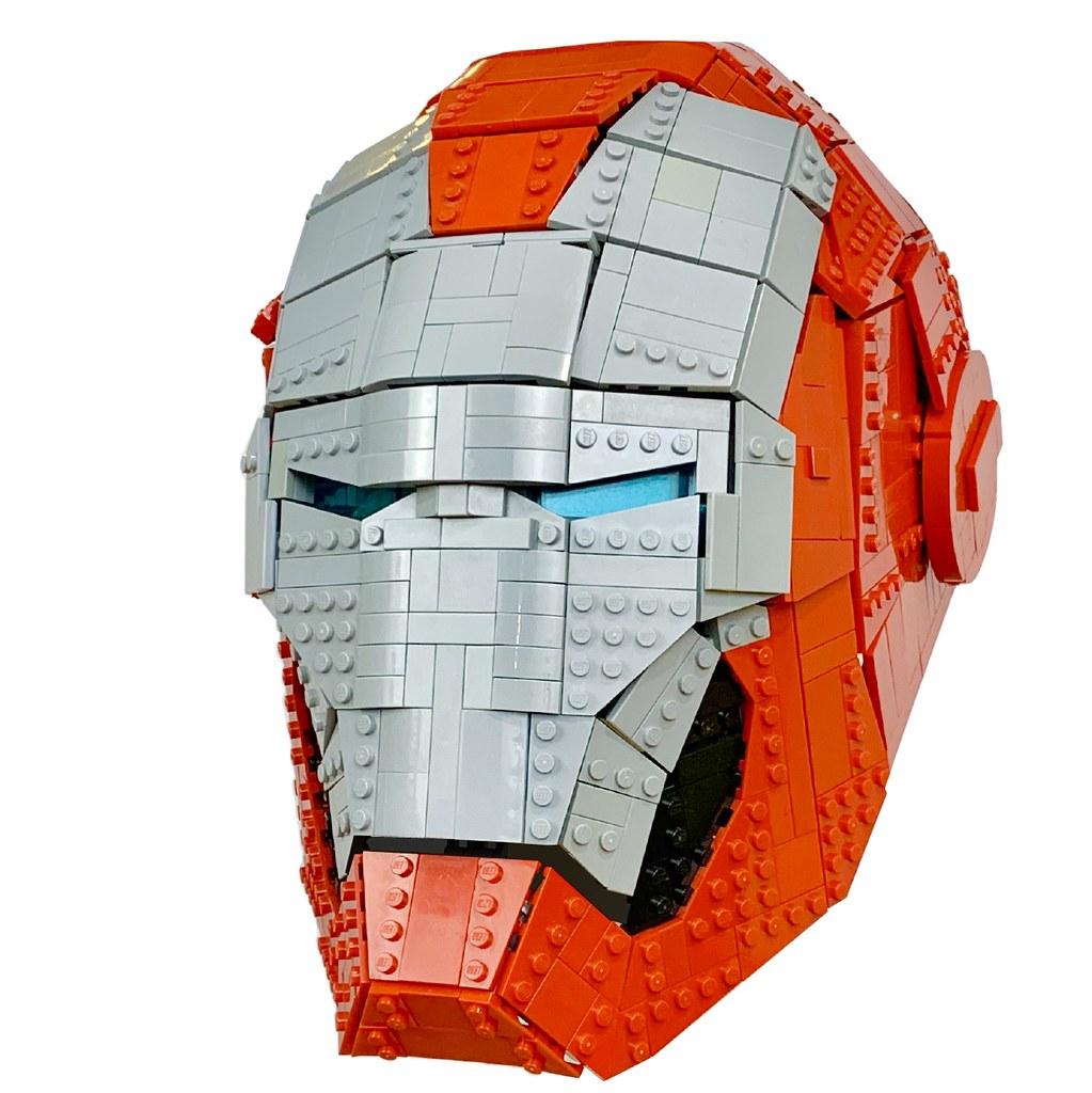LEGO Iron Man Helmet Mk V