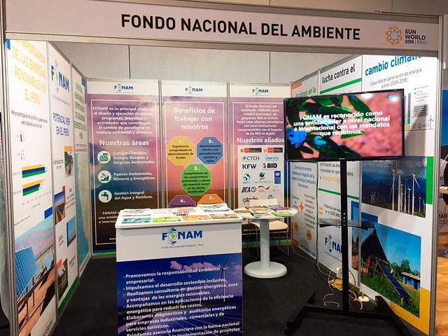 FONAM participa en exposición mundial de energías renovables - Sun World