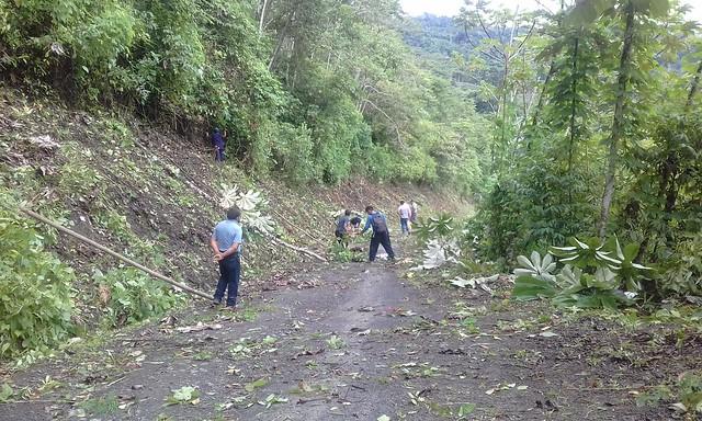 Mantenimiento en Boca Pomoreni