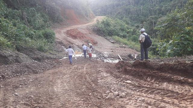 Atención de Emergencias en Pomoreni Alto