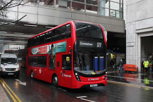 Stagecoach London 12416, YY66PJV - Route 277 | Canary Wharf Station