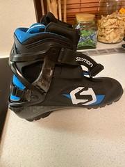 Boty běžky skate SNS Salomon S/Race-skate Plus v.4 - titulní fotka