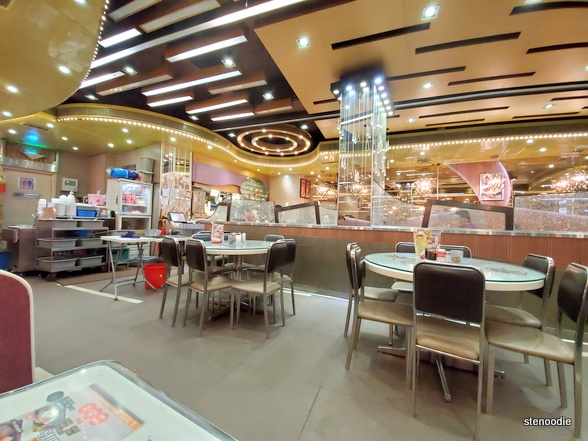 Golden Sand Restaurant interior