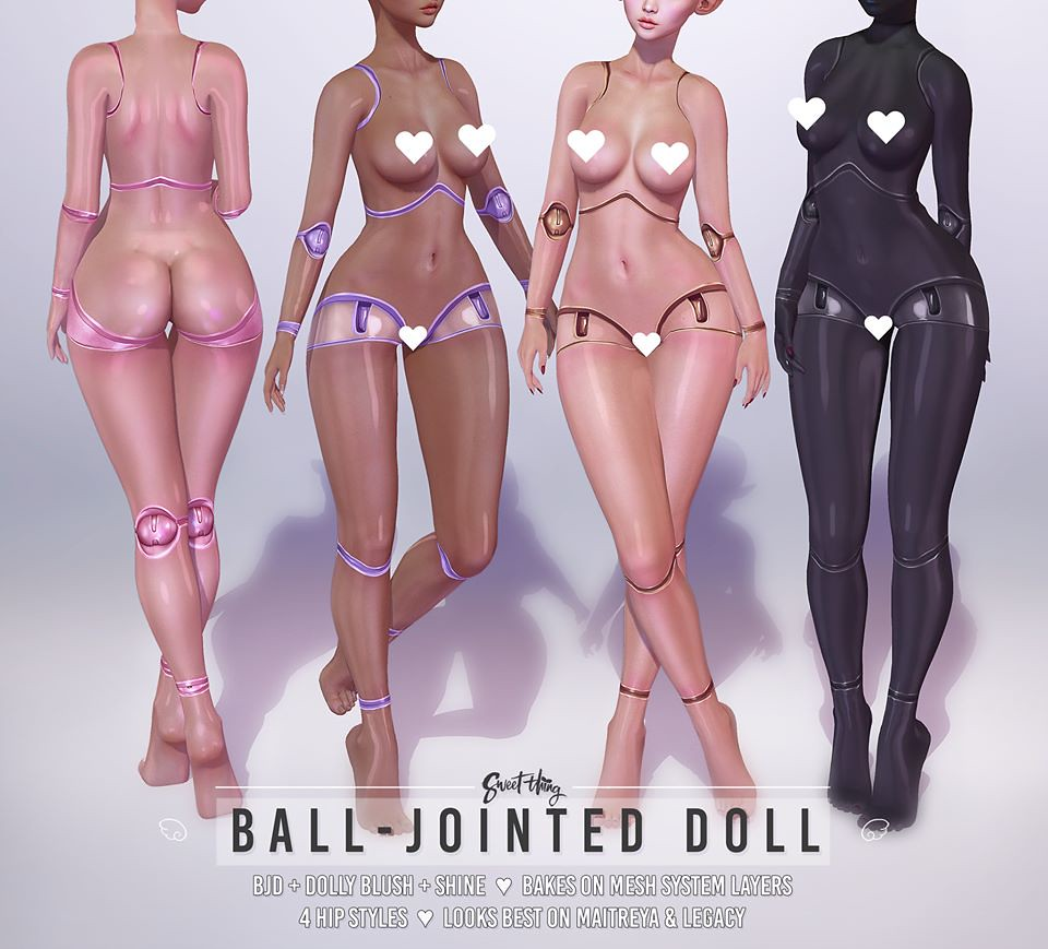 Sweet Thing – Ball – Jointed Doll @ equal10