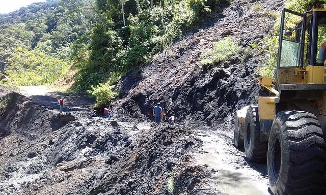 Atención de Emergencias en Pomoreni Lodo Negro