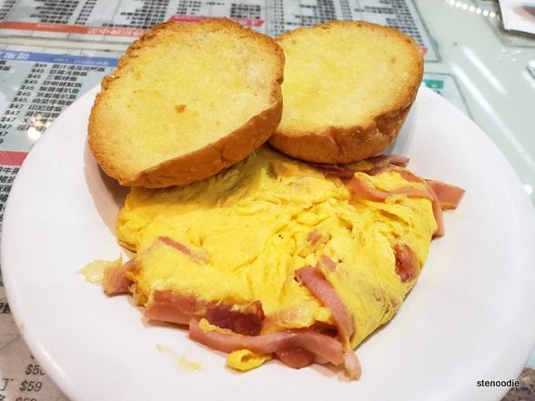 Golden Sand Restaurant scrambled eggs