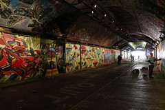 Leake Street Graffiti Tunnel, London