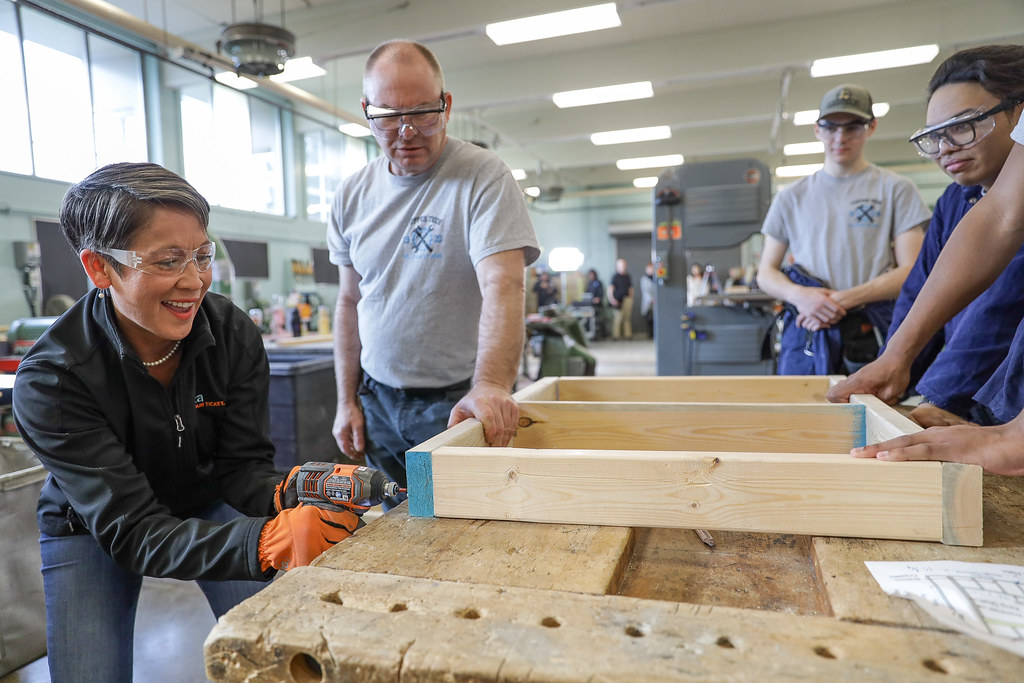 New funding is being invested in thousands of youth, women and under-represented groups to get the training and support they need for apprenticeships and employment in the skilled trades.