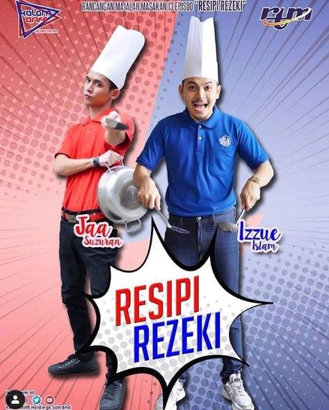 Poster Resipi Rezeki