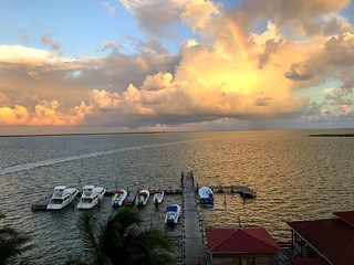 Sunrise, Belize City, Belize
