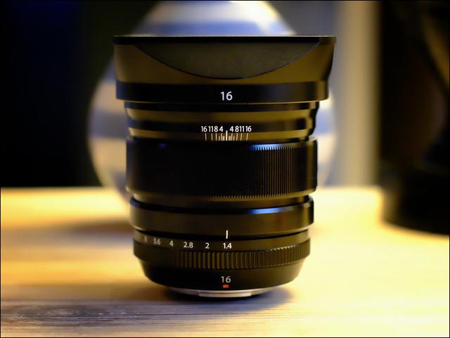 Fujinon 16mm f1.4
