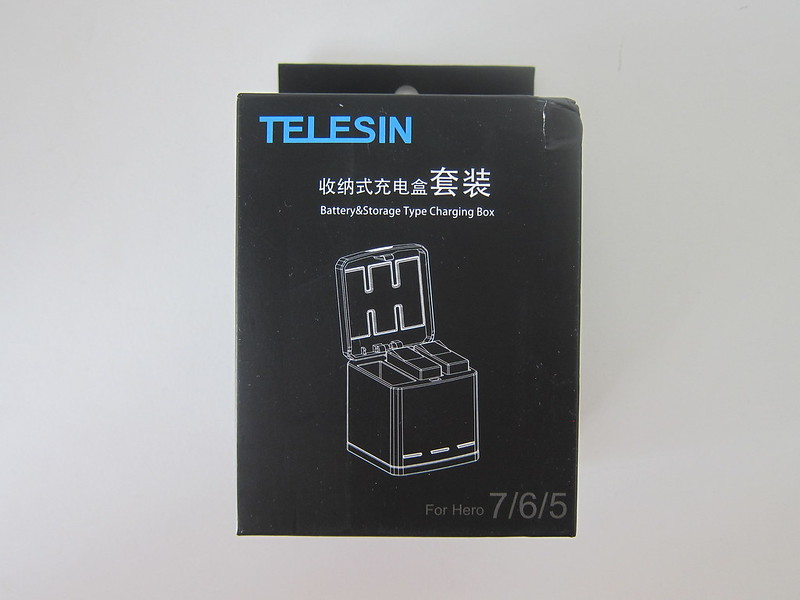 Telesin 3-Channel Charging Box - Box Front