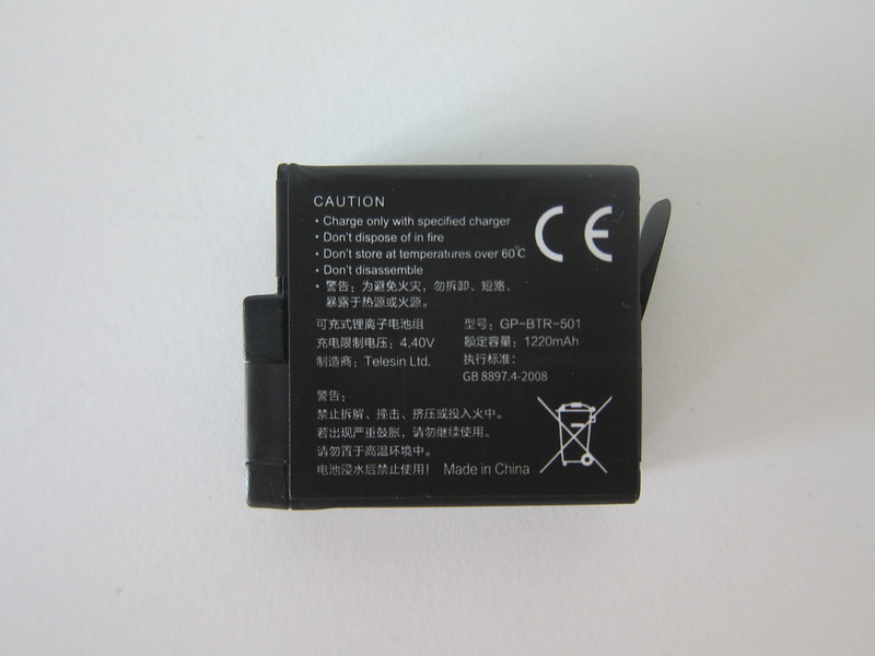 Telesin GoPro Battery - Back