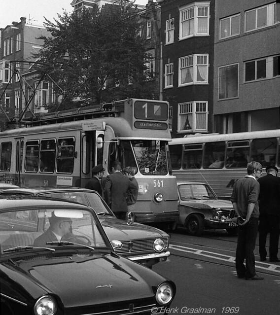 Amsterdam tram trouble