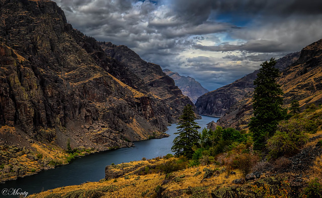 Hells Canyon, Snake River, Oregon, USA on my recent trip to the Pacific Northwest