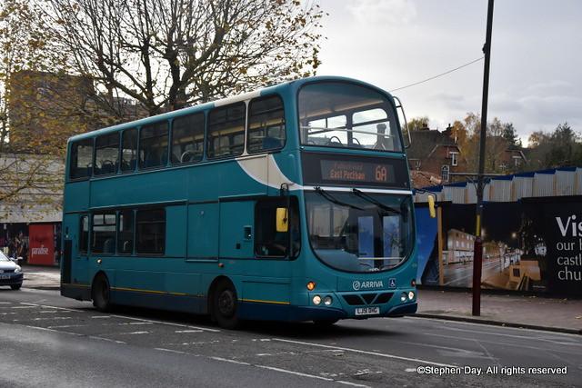 6124 Kent & Surrey LJ51DHG Volvo B7TL Wrightbus Eclipse Gemini ex Arriva London. Mount Pleasant Road  Tunbridge Wells 12.11.19