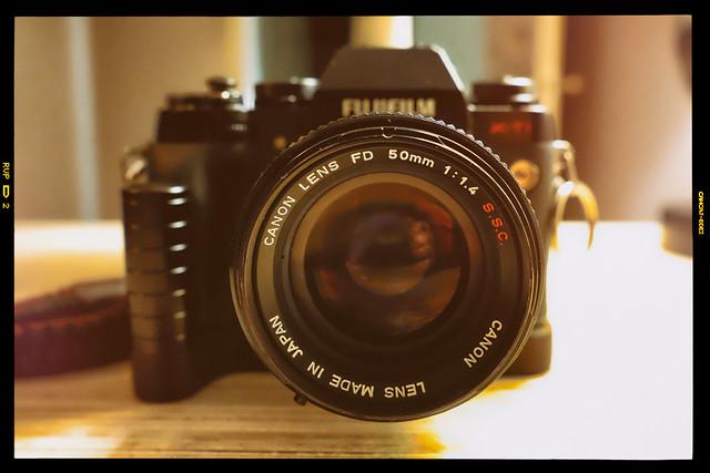 Canon on Fuji